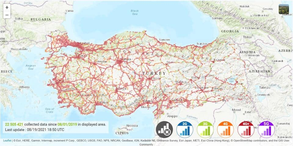 Turkcell Sim Card Coverage