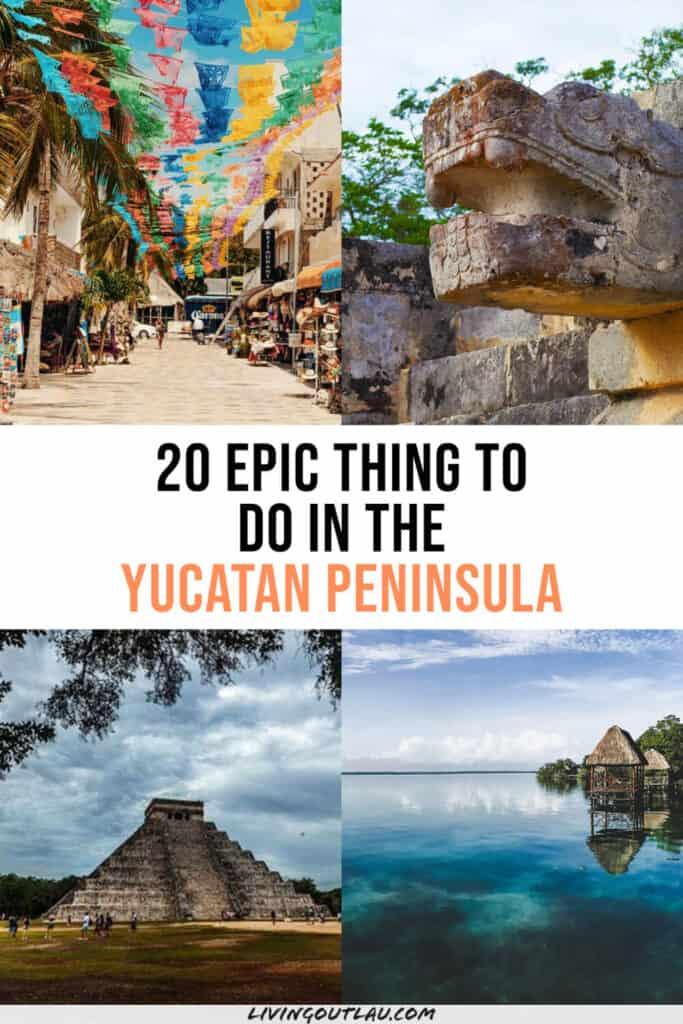 What to Do in The Yucatan Peninsula Pinterest