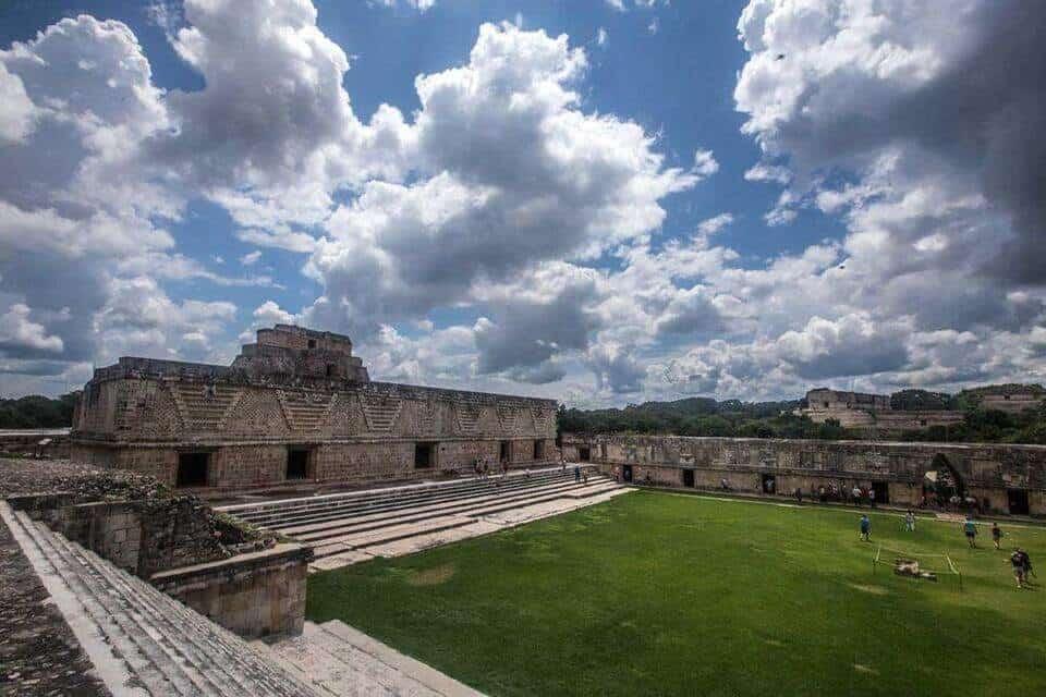 uxmal Mayan Ruins in Yucatan Peninsula