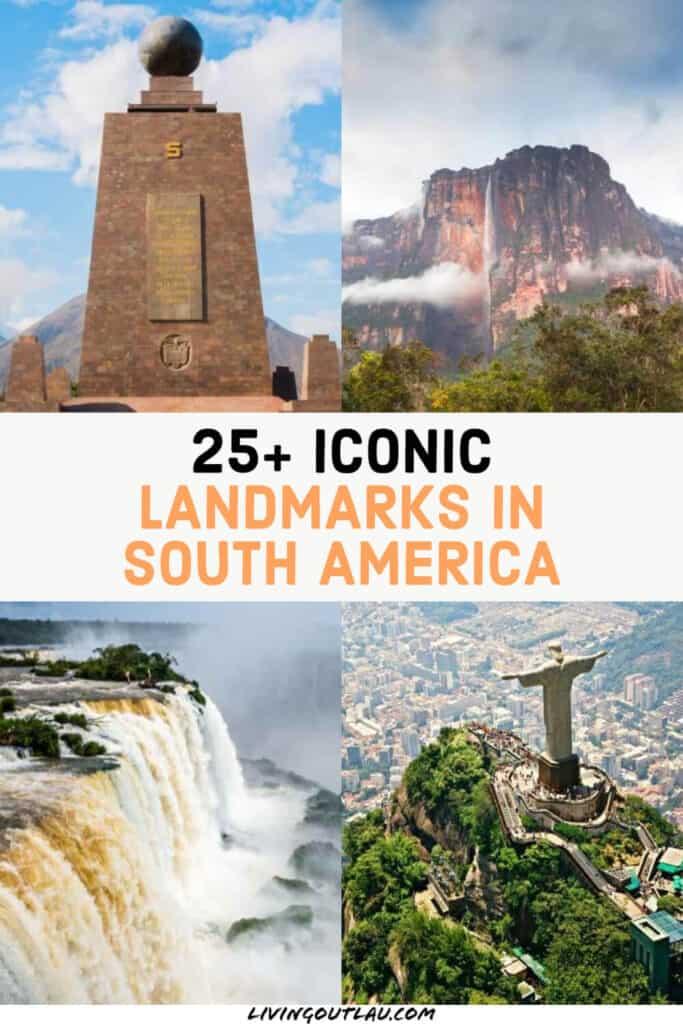 Famous South America Landmarks Pinterest