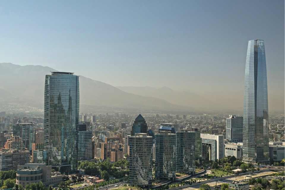 Gran Torre Santiago Landmark Chile