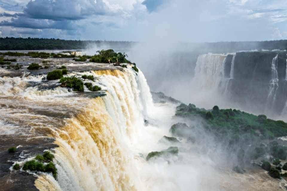 Iguazu Falls South American Landmark