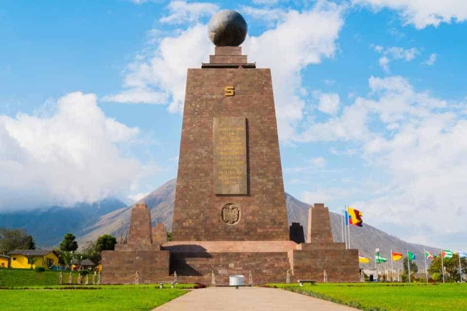 Mitad Del Mundo South American Monument
