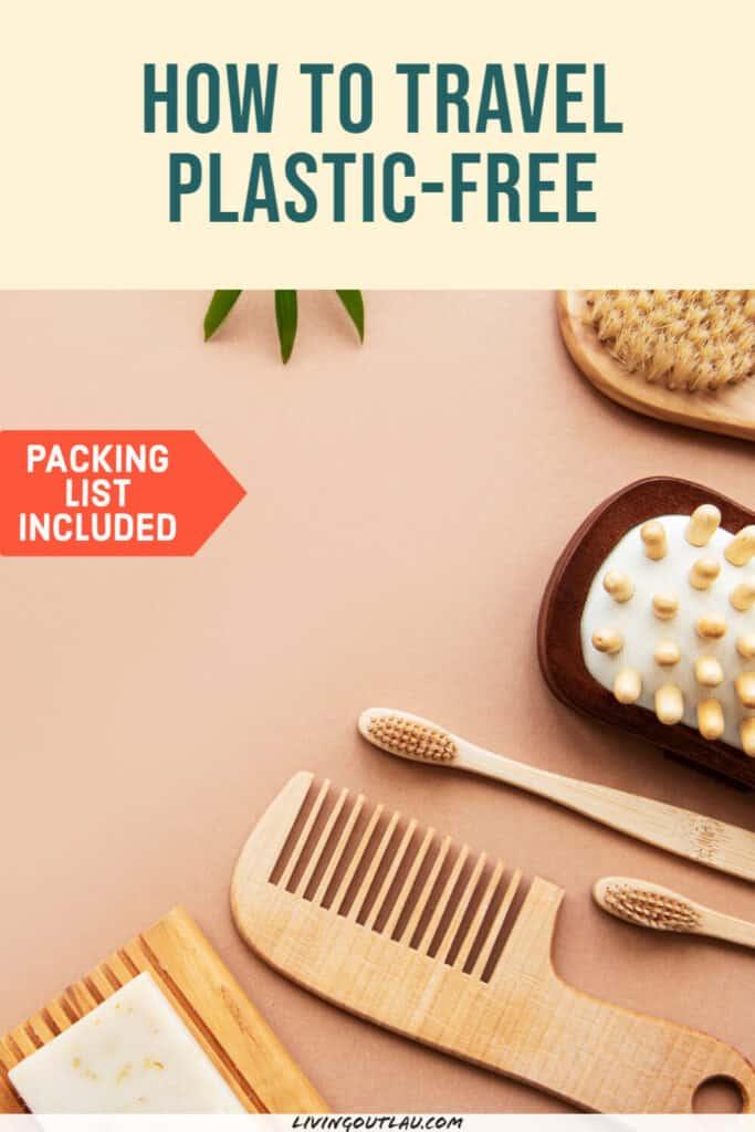 Zero Waste Travel Plastic Free Pinterest