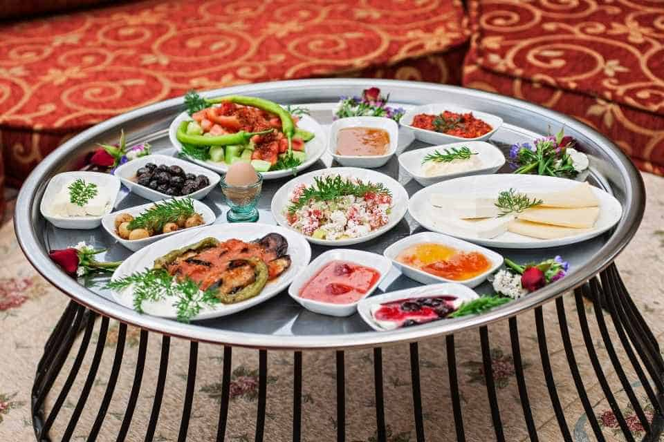 Authentic Turkish Breakfast in Istanbul