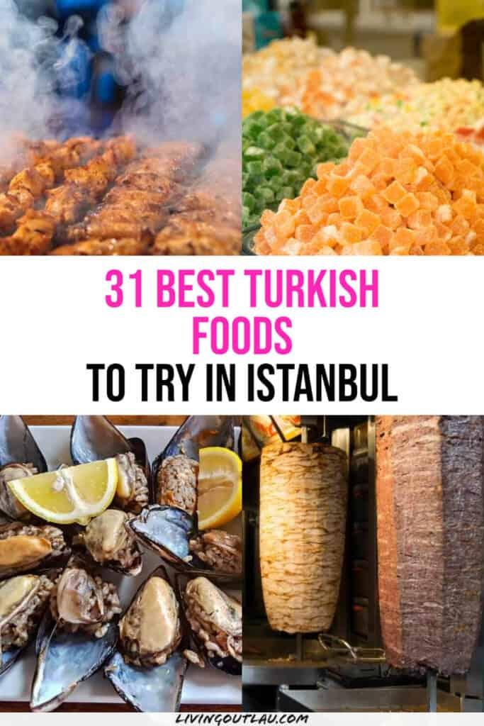 Best Istanbul Foods Pinterest