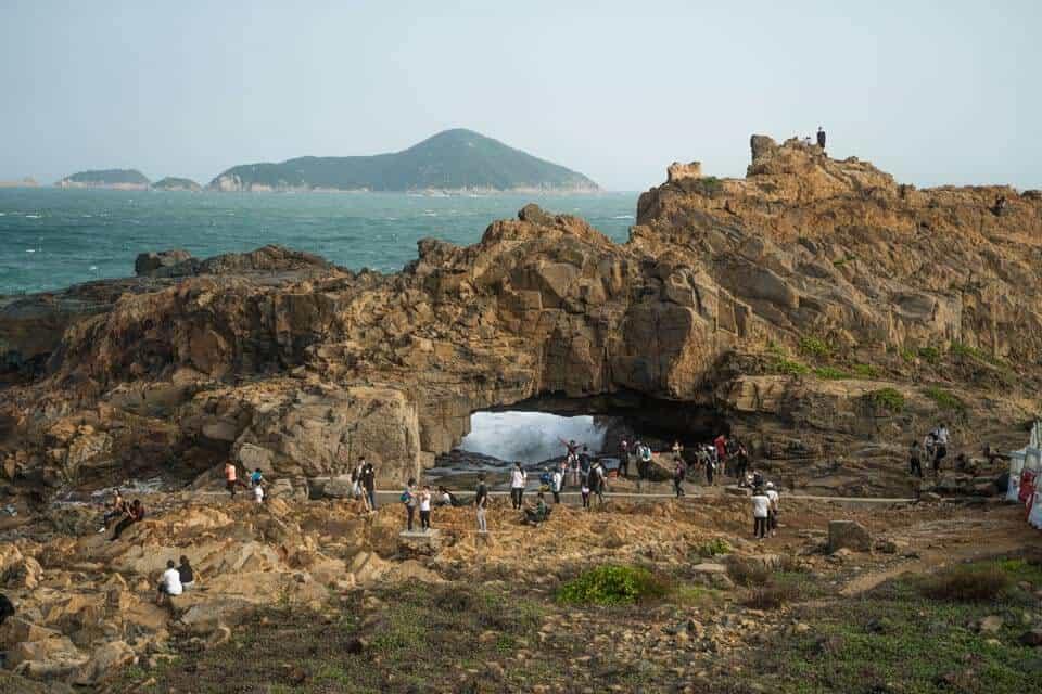 Crab Cave Cape D'Aguilar