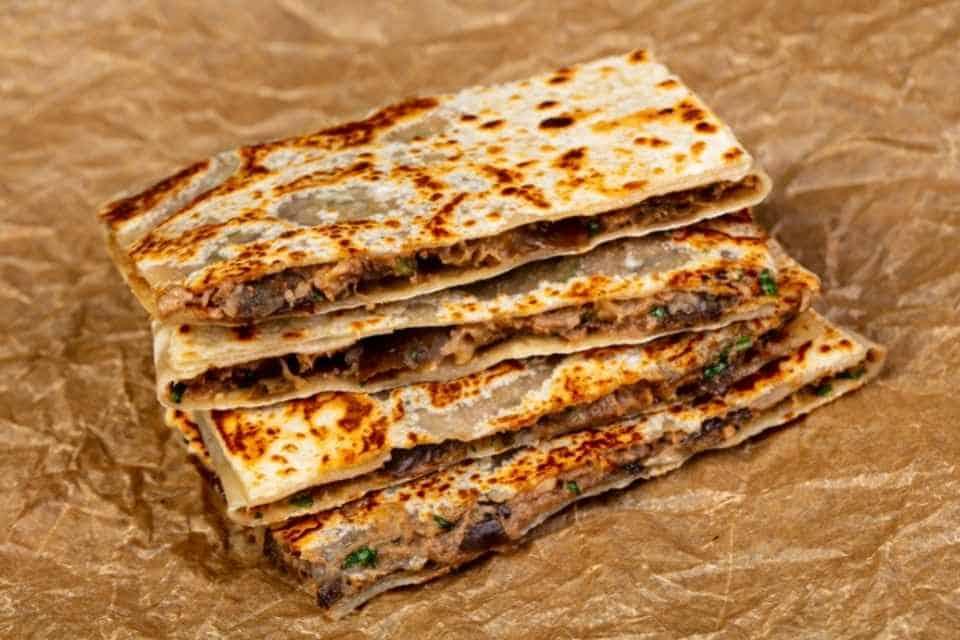 Gozleme Turkish Snack