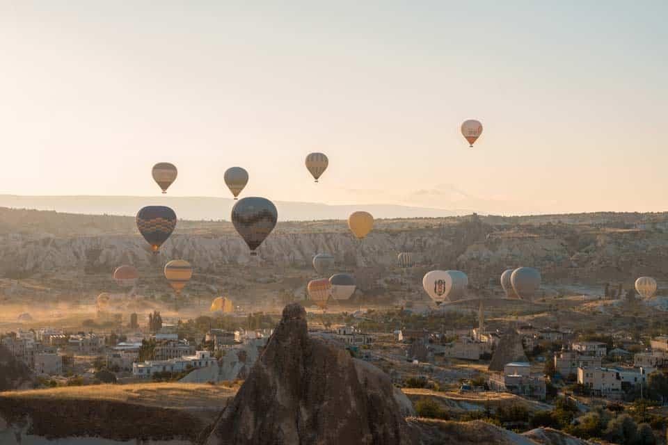 How Many Days in Cappadocia Hot Air Balloons