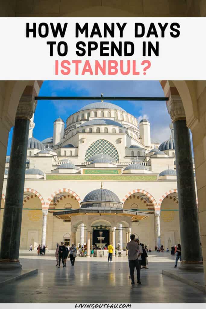Istanbul How Many Days Pinterest