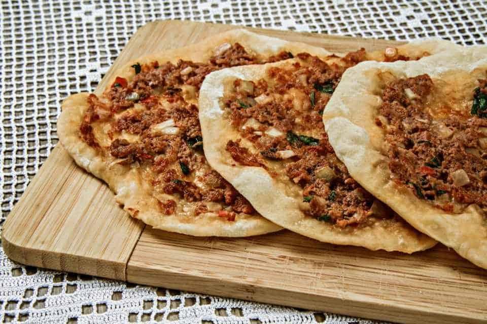 Lahmacun Street Snack Turkey Istanbul
