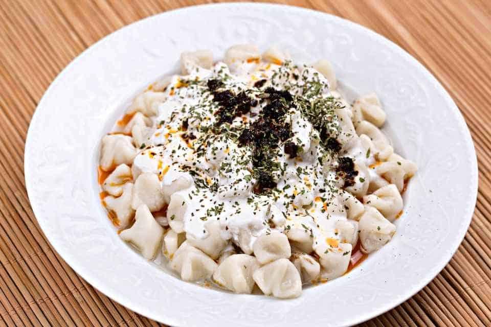 Manti Traditional Turkish Food