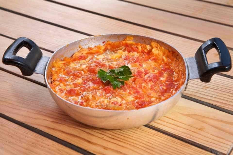 Menemen Vegetarian Turkish Food Istanbul