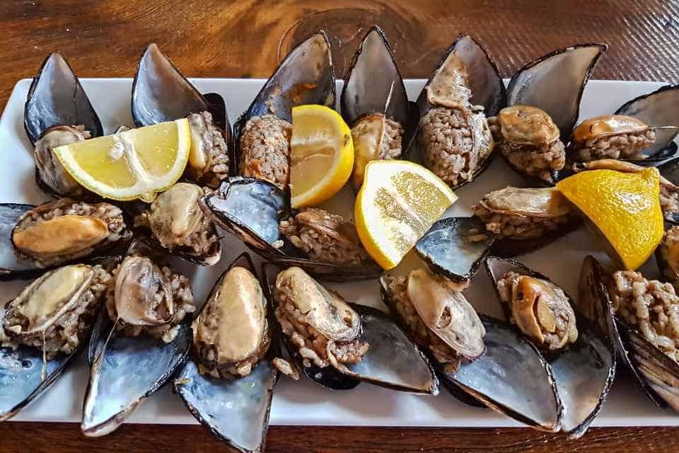 Midye Dolma Stuffed Mussels Best Seafood in Istanbul