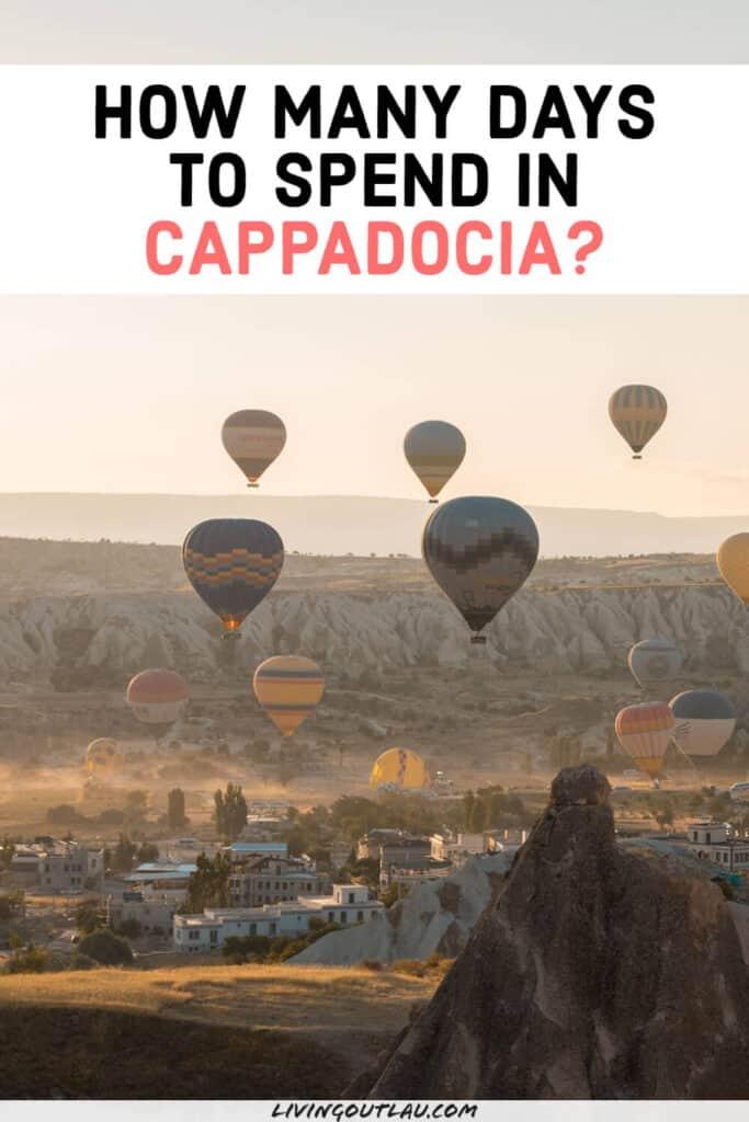 Number of Days in Cappadocia Pinterest