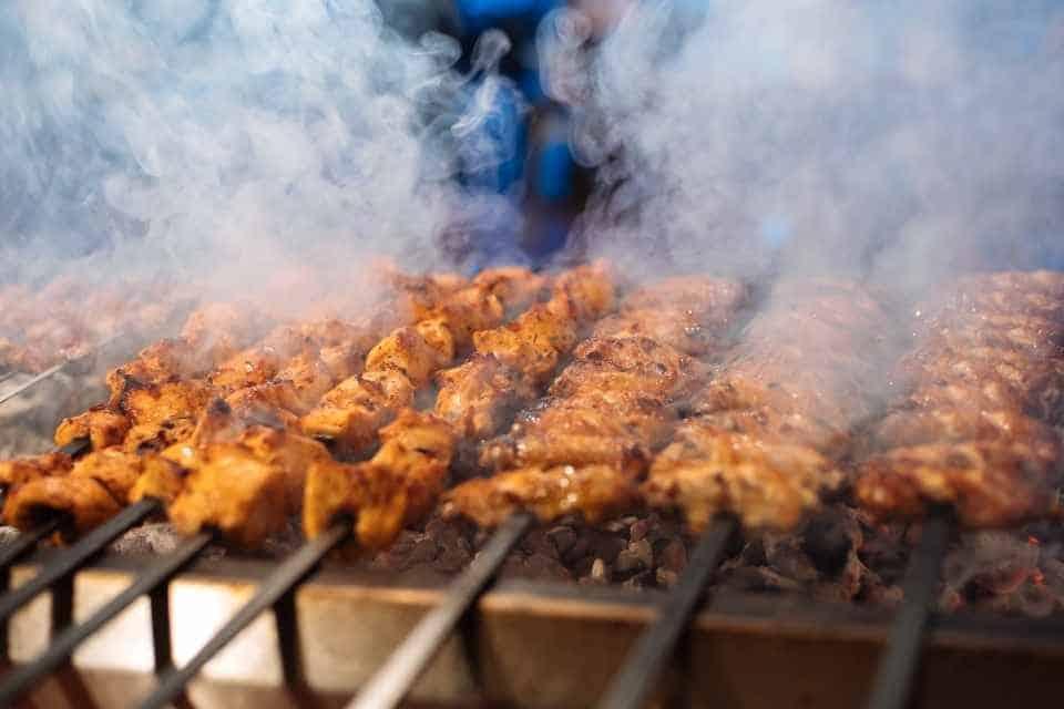 Shish Kebab Istanbul Dishes