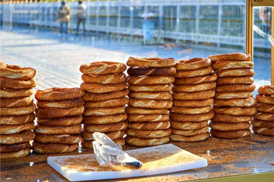 Simit Turkish Breakfast Foods Istanbul