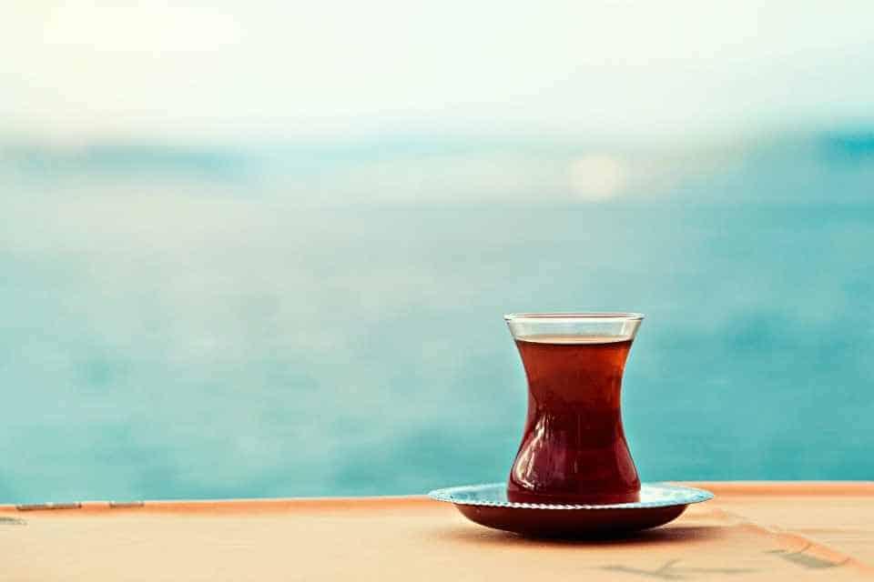 Turkish Tea Cay Best Drink in Istanbul